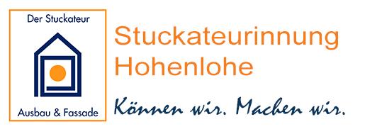 Stuckateur-Innung-Hohenlohe – Betriebe aus Schwäbisch Hall, Künzelsau, Crailsheim, Öhringen Logo